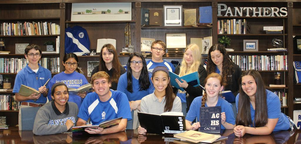 Students - Yearbook boardroom