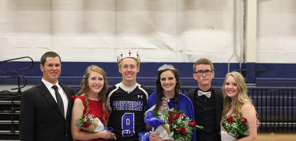 2016 Homecoming Court