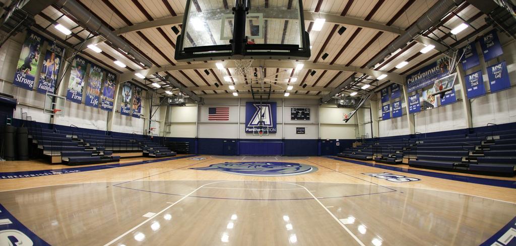 Basketball Court FishEye