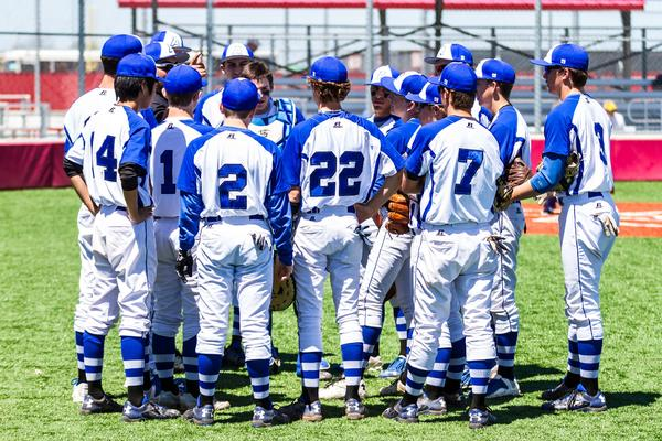 Abilene Christian Schools baseball team before game
