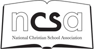 National Christian Schools Association (NCSA)​ Logo
